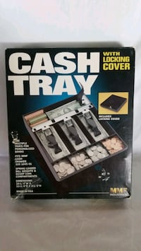 New Metal Cash Tray with lock Key Bowie, 20715
