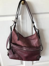 Brand New Medium size purse becomes a backpack -(leather and suede) New Westminster, V3L 3C2