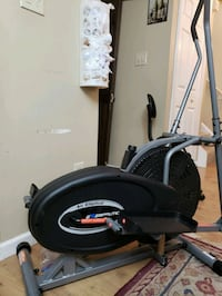 black and gray elliptical trainer Centreville