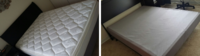 Queen Mattress & Box Spring $150 Negotiable. Selling to make room for a bigger size bed.