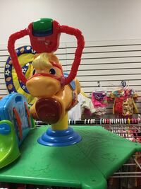 Fisher Price bounce horse