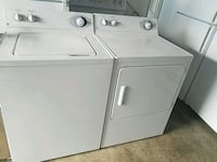 white washer and dryer set Temple Hills, 20748