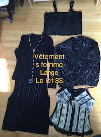 women's three assorted clothes Laval, H7P 2V7