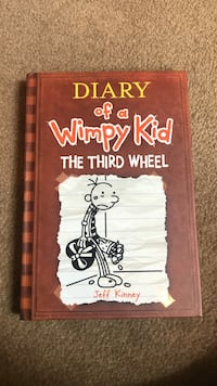 Diary Of A Wimpy Kid The Third Wheel by Jeff Kinney book