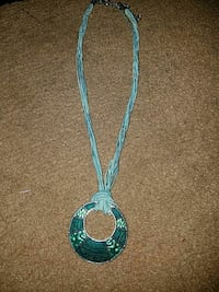 Teal necklace Alexandria, 22314