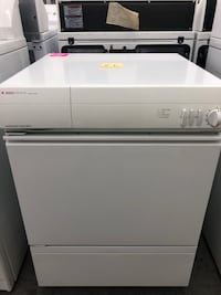 """23 1/2"""" inches wide electric dryer with stainless steel drum inside Warren, 48091"""
