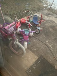Bicycles and tricycles $10 each