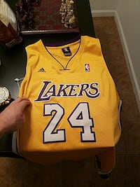 fa18450a4cd Used Adidas los Angeles Lakers Kobe Bryant jersey for sale in ...