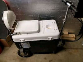 Battery powered Cooler Scooter