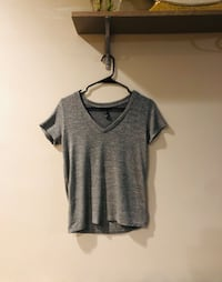 Forever 21 Grey V-neck T-shirt (small)  Dearborn, 48126