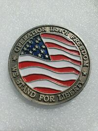 U.S Military Challenge Medals/Coin Stockton, 95203