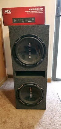 MTX Subwoofers with Amp Arlington