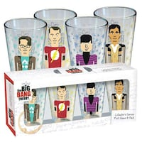 Collector's the big bang theory print glass Markham, L3P 3L9