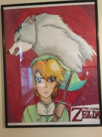The legend of Zelda drawing  FREEHOLD