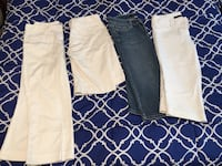 Name Brand capris. The Limited, Express and White and Black house market Lincoln, 68510