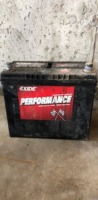 black and red Husky tool chest Kitchener, N2P 2Y3