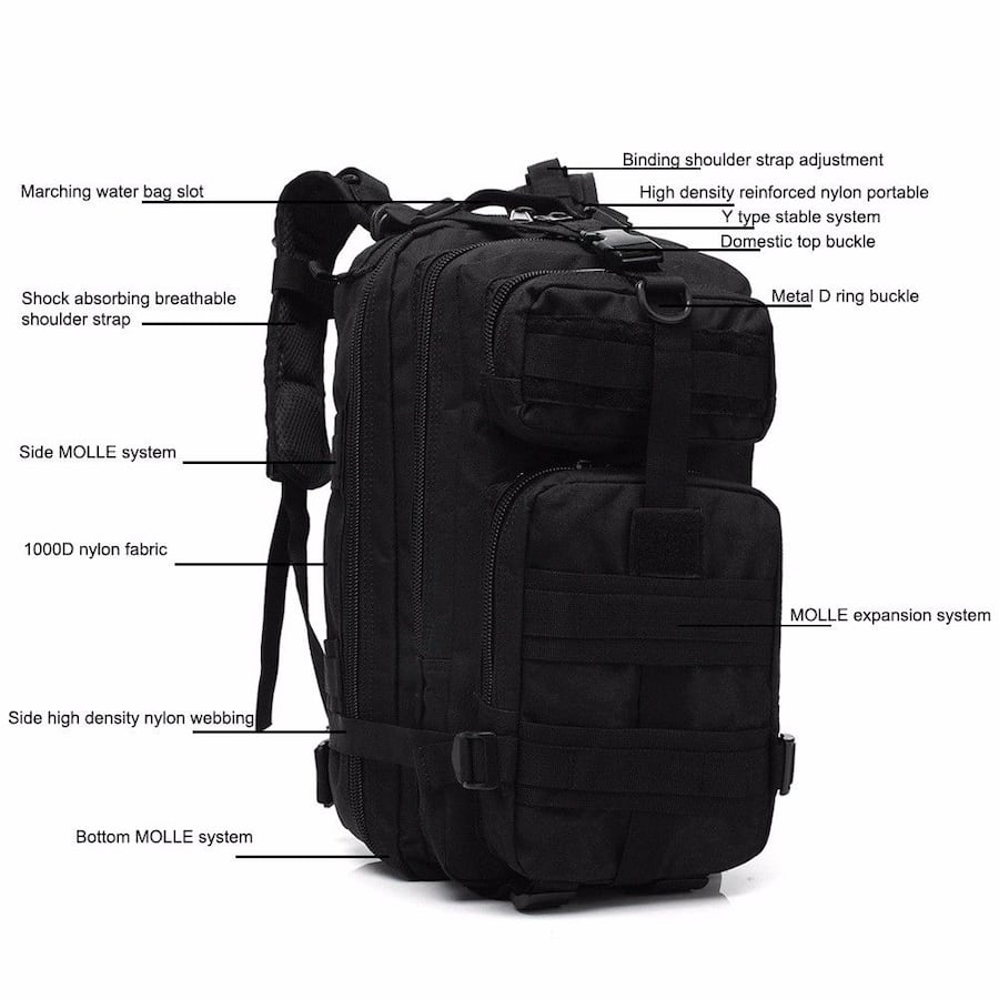 Brand New Tactical 30L Molle Backpack