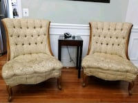 Two antique chairs Sterling
