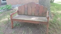 Solid Wood Outdoor Bench Barrie, L4N 2X3