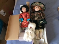 Only Larger Green Dress Red Hair Porcelain doll is left Edmonton, T6H 4Y7