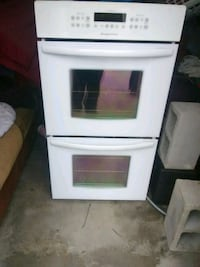 white and black induction range oven Dallas, 75248