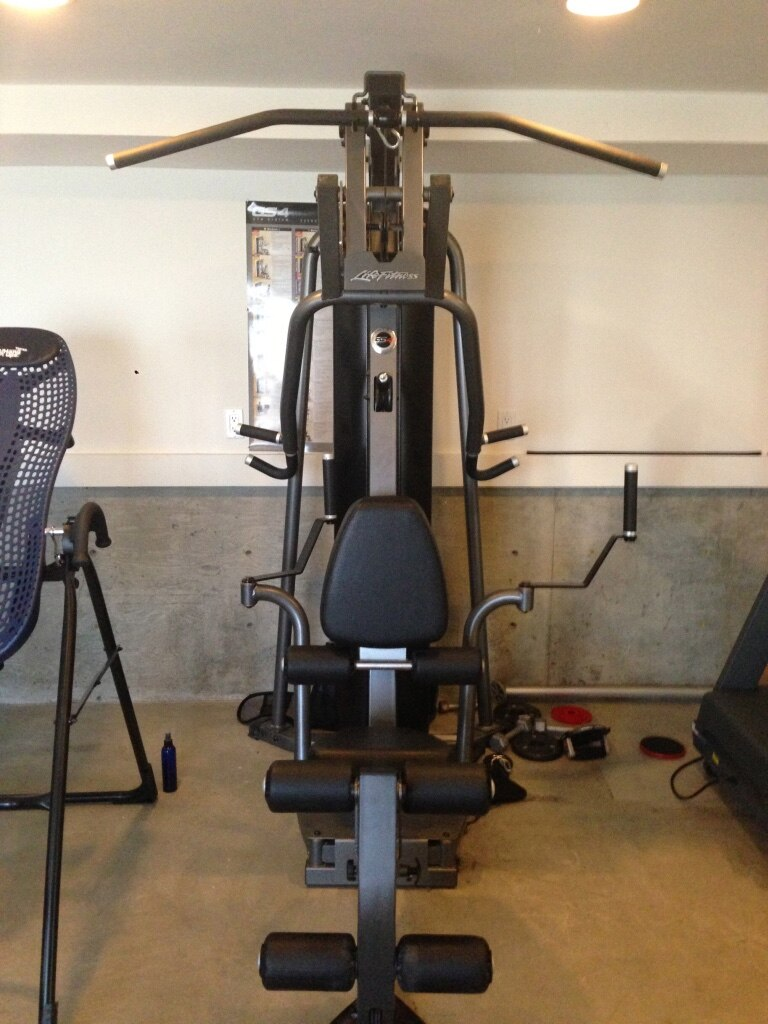 Used life fitness g home gym for sale in oakland letgo