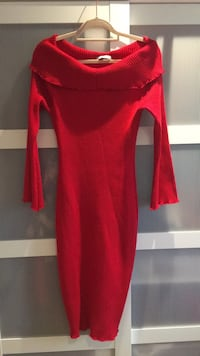Beautiful Red off shoulder king dress (can fit size S-M)  Manchester, M4