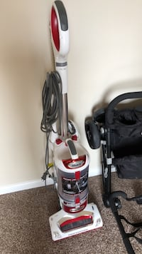gray and black upright vacuum cleaner Inwood, 25428