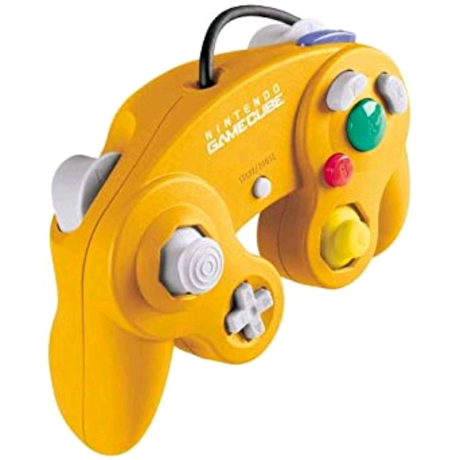 Authentic Spice Orange Gamecube Controller