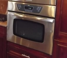 Amana single electric wall oven