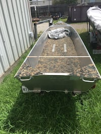 13' skiff and trailer