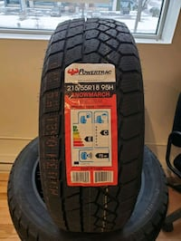 Winter Tires, special prices on selected sizes