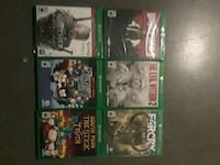 four Xbox One game cases 3730 km