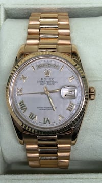 ROLEX President Day-Date w/ Pyramid Dial, great condition!  Costa Mesa, 92627