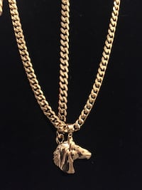 Stainless steel gold plated