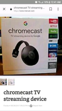 Chrome cast(Used only twice) McLean, 22102