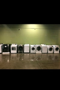 Washer and dryer ! New with warranty ! Liquidation event!! Must sell!