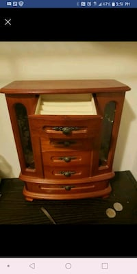 brown wooden 3-drawer chest Monroe Township, 08080