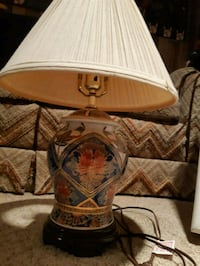brown and white table lamp Calgary, T2J 0P9