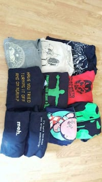 10 3x geek shirts, good condition Greensboro, 27409