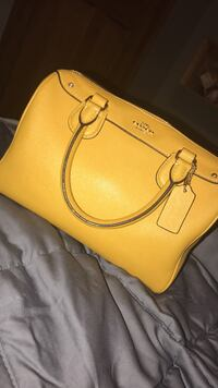 Yellow Coach Bag Allenstown, 03275