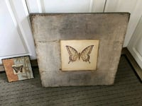 2 Vintage butterfly pictures Bed Bath & Beyond Somerville, 02143
