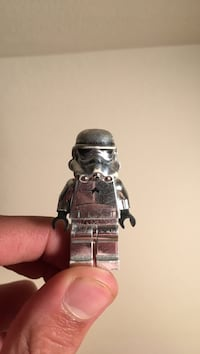Exclusive rare silver LEGO stormtrooper  New Westminster, V3M 3G2