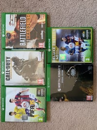 Xbox One Games Oakville, L6M 3L8