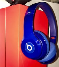 Casque audio beats solo-bleu