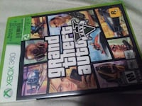 XBox 360 Grand Theft Auto V case Abbotsford, V2T 5E2