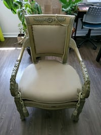 Antique King Victorian wood chair