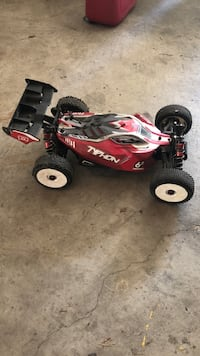 red and black RC toy car Richmond Hill, L4E