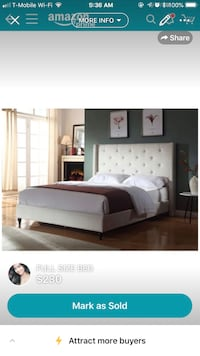 Full size bed South San Francisco, 94080