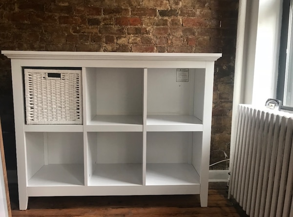 White Bookshelf Tv Stand